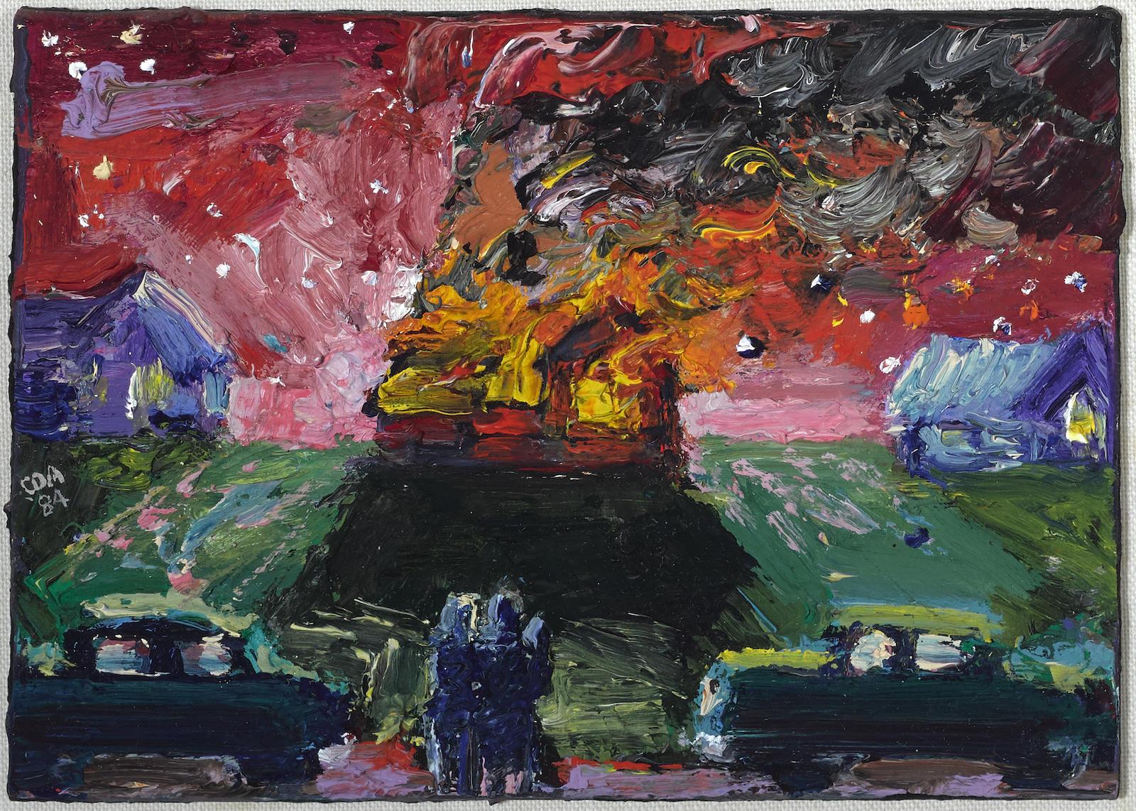 Carlos Almaraz-Suburban Nightmare-1984