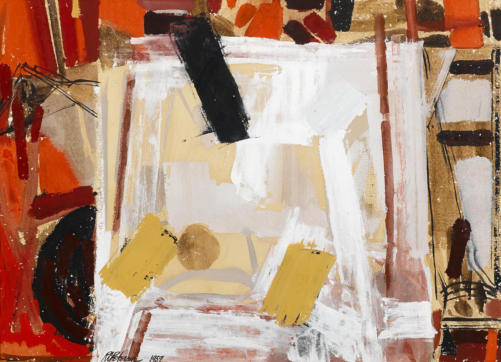 Roland Petersen-Still Life (Vibrations)-1957