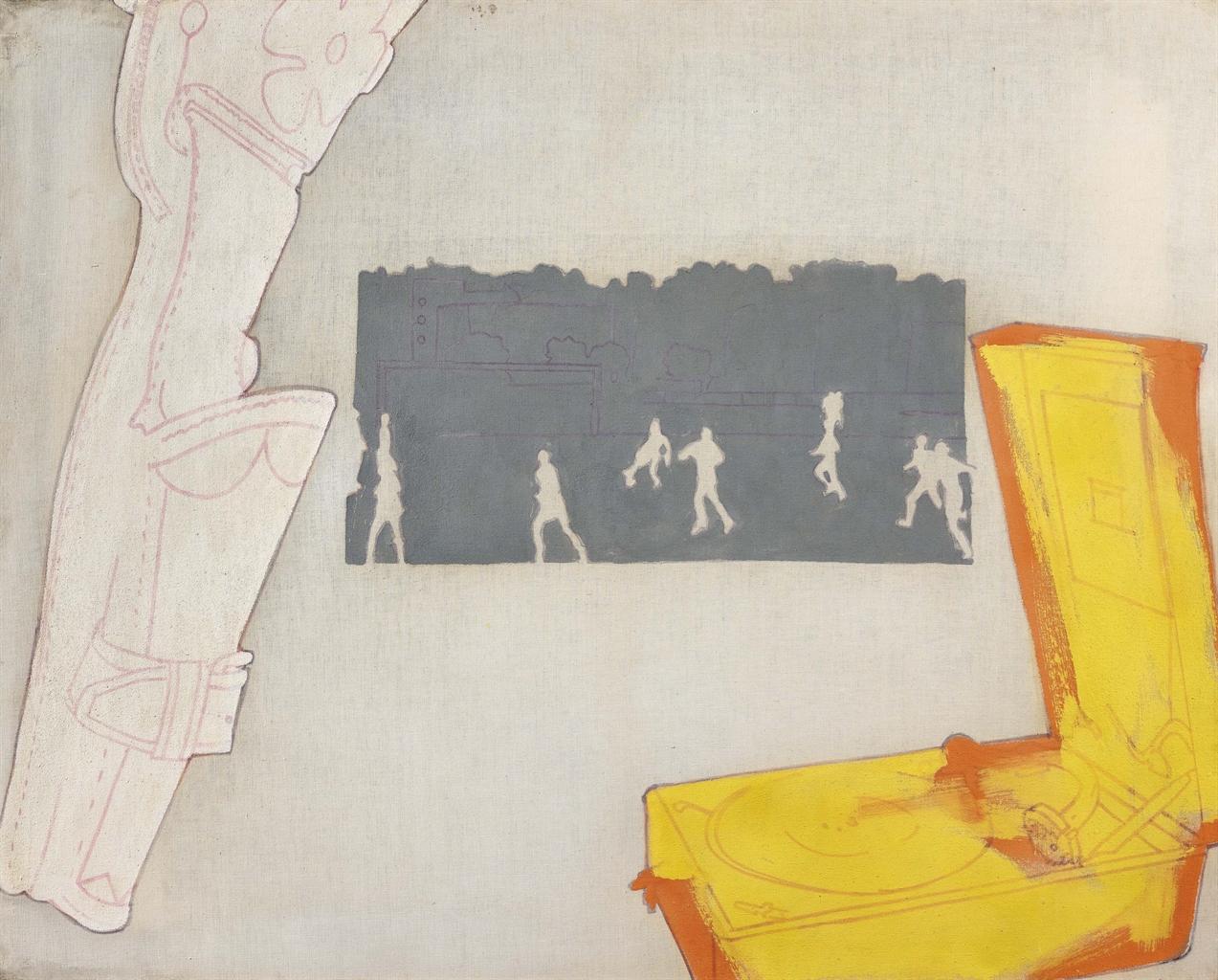 Renato Mambor-La Partita Di Pallone-1965
