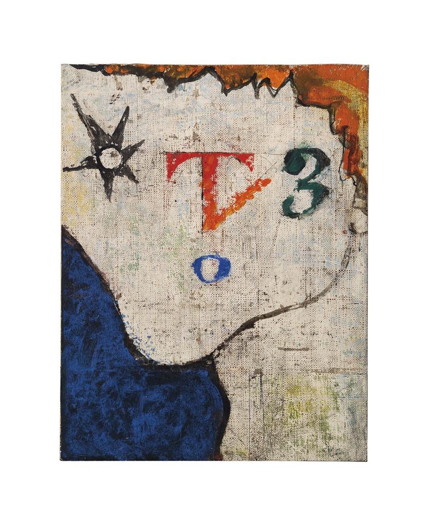 Osvaldo Licini-Figura T 3-1945