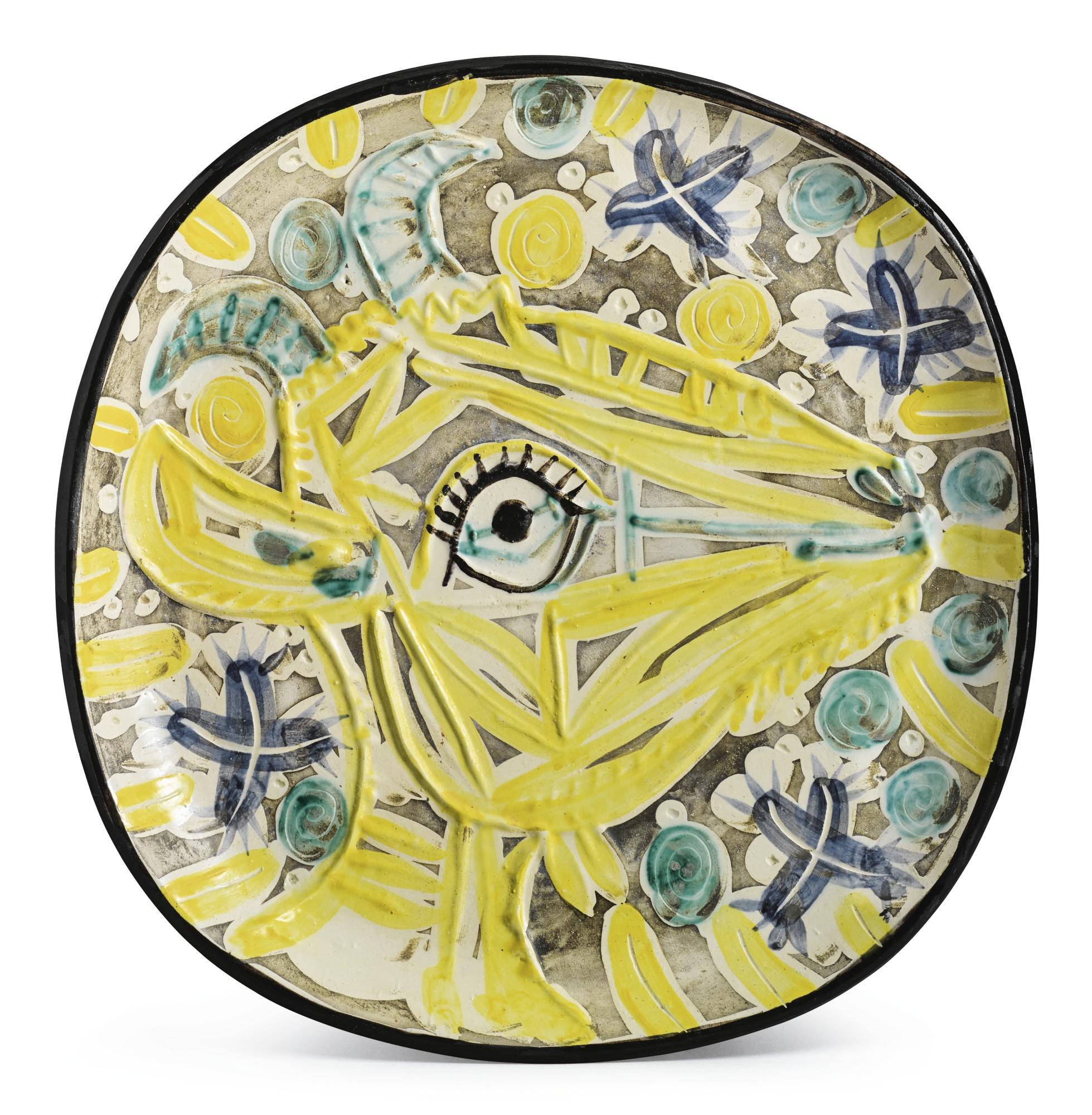 Pablo Picasso-Tete De Chevre De Profil (A.R. 154)-1952