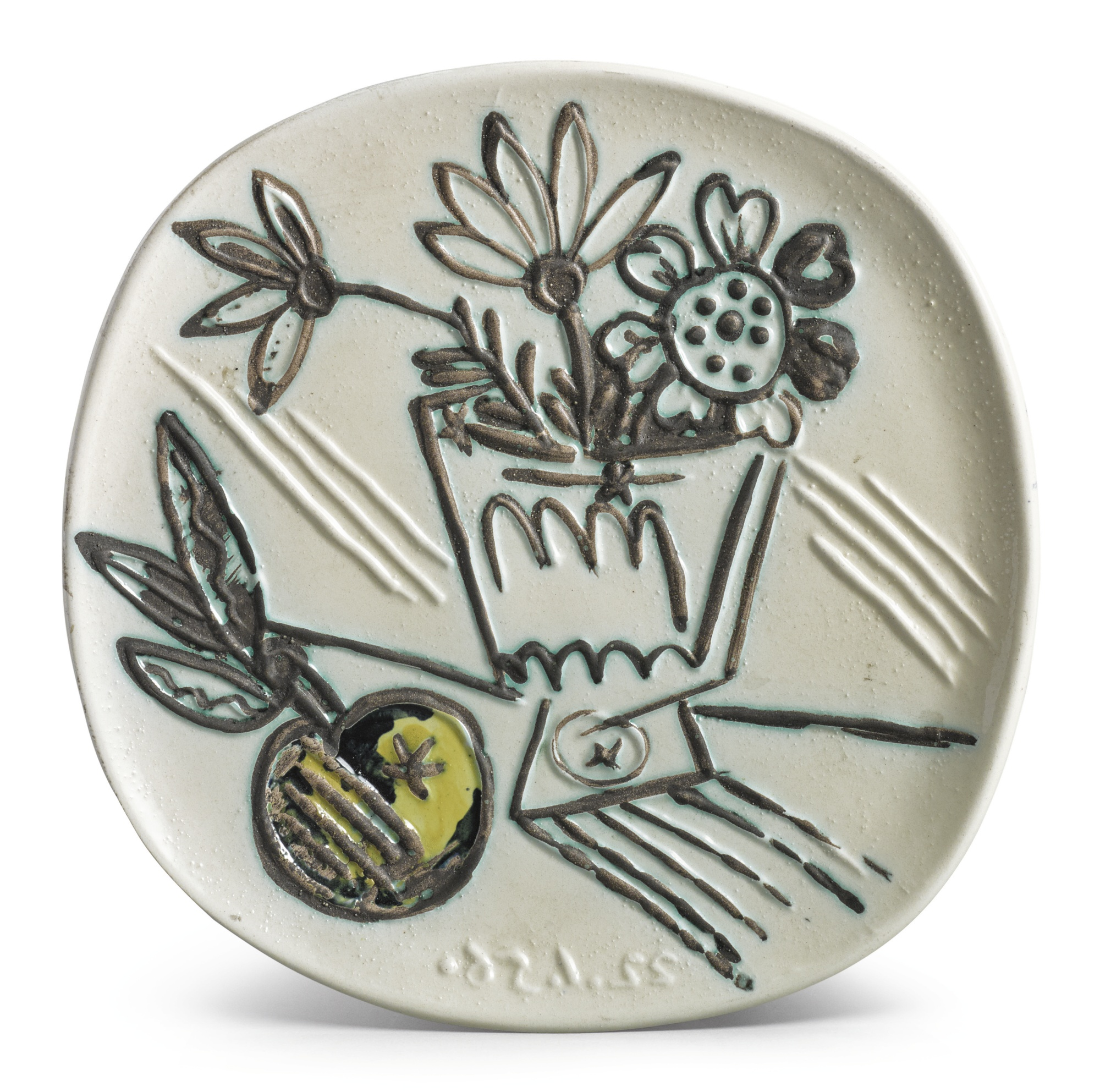 Pablo Picasso-Bouquet A La Pomme (A.R. 307)-1956