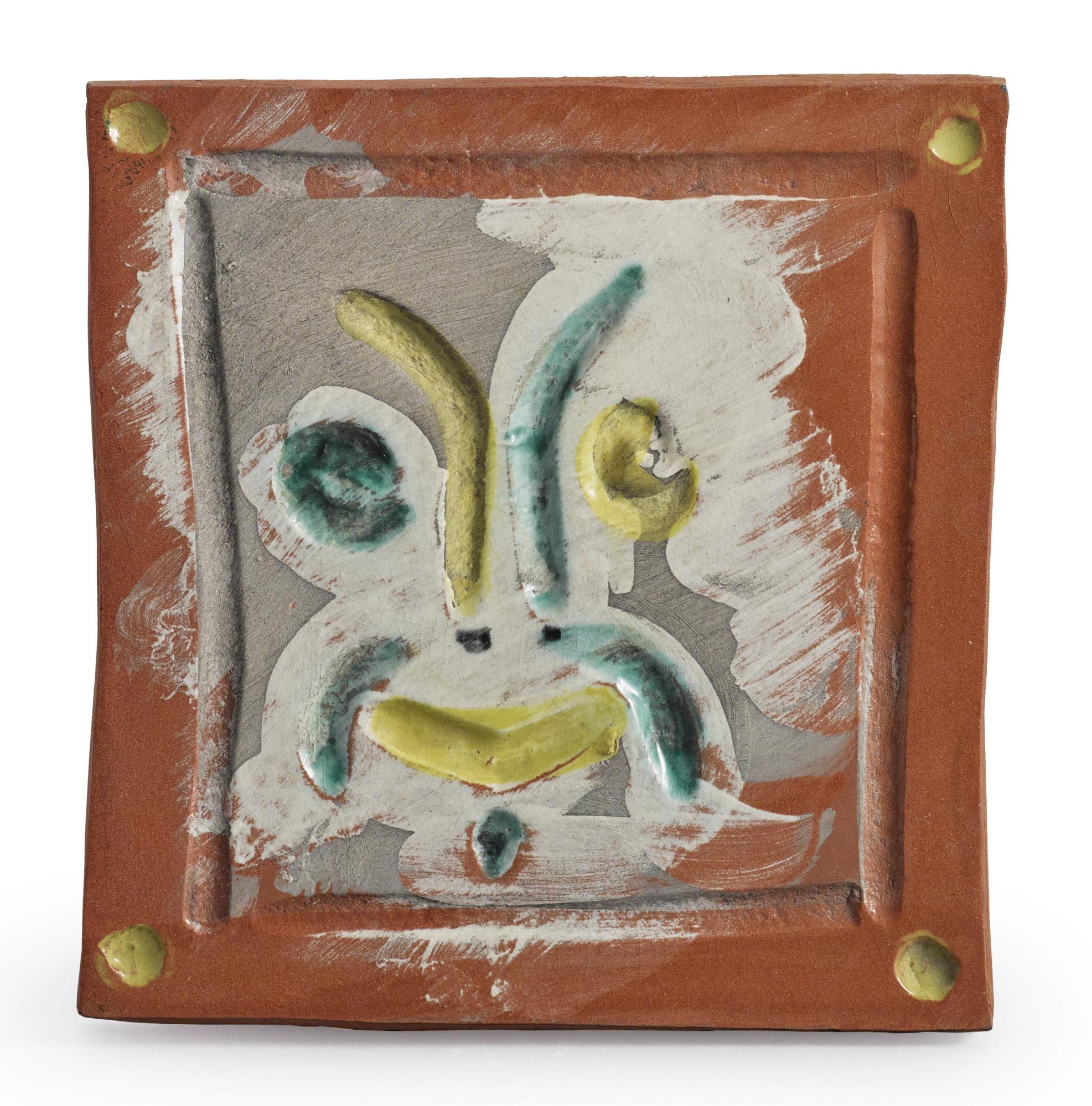 Pablo Picasso-Masque Rieur (A.R. 561)-1968
