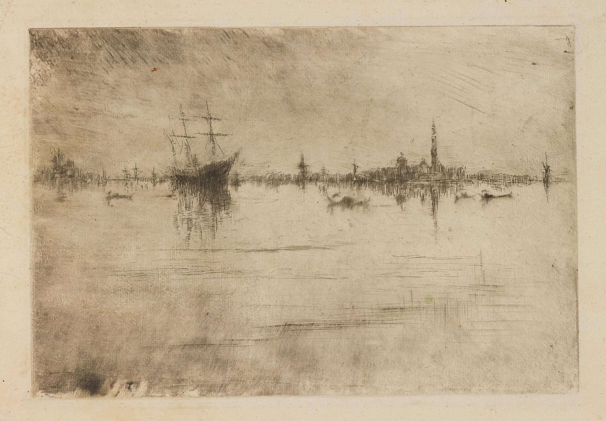 James Abbott McNeill Whistler-Nocturne (Kennedy 184; Glasgow 222)-1881