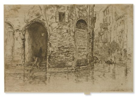 James Mcneill Whistler - Two Doorways (K. 193; G. 221)-1880