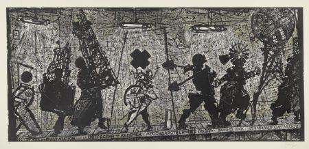 William Kentridge-Eight Figures-2010