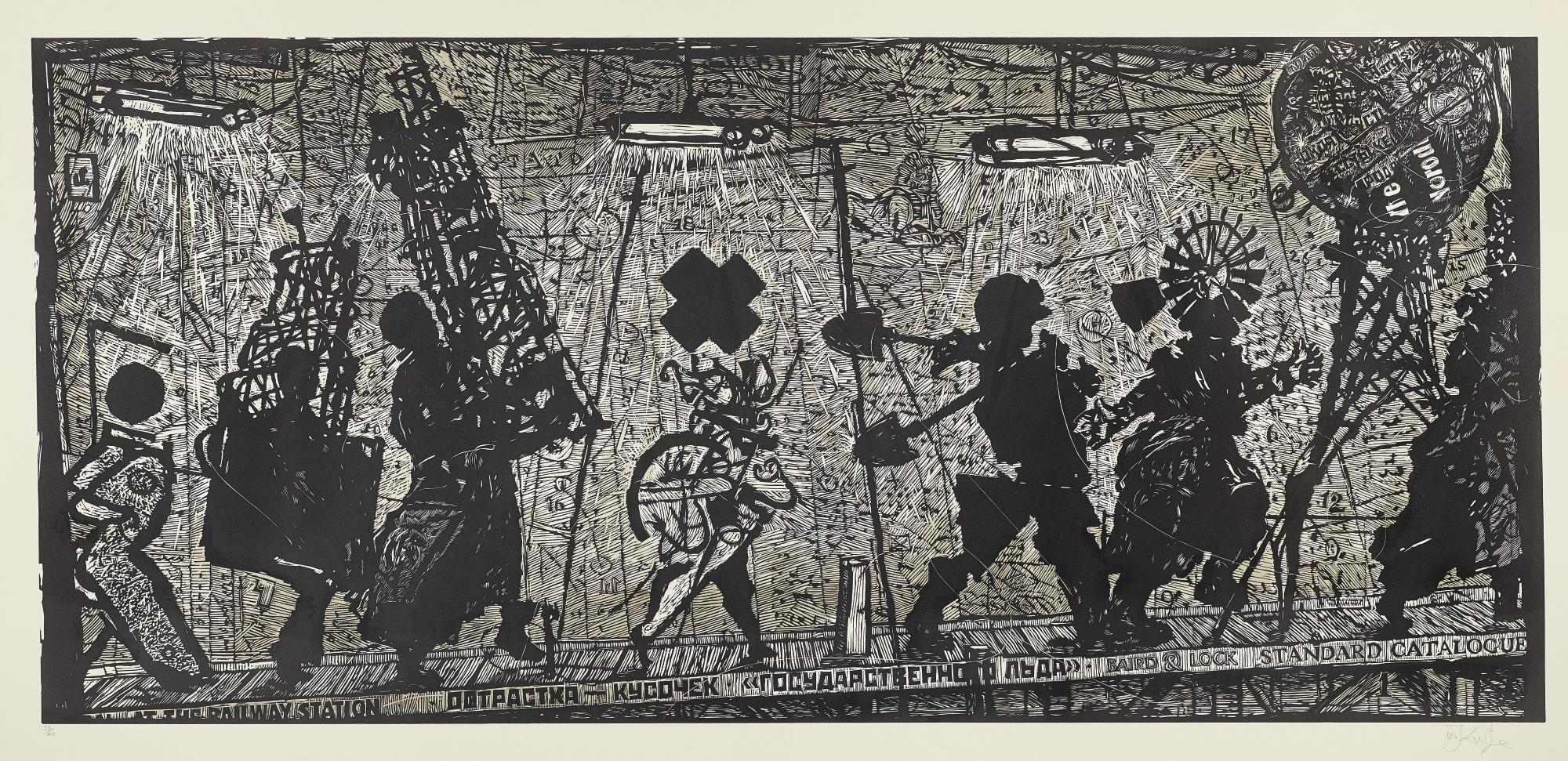 William Kentridge-Eight Figures-2010