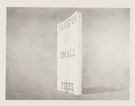 Ed Ruscha-Various Small Fires (Engberg/Philpot 46)-1970