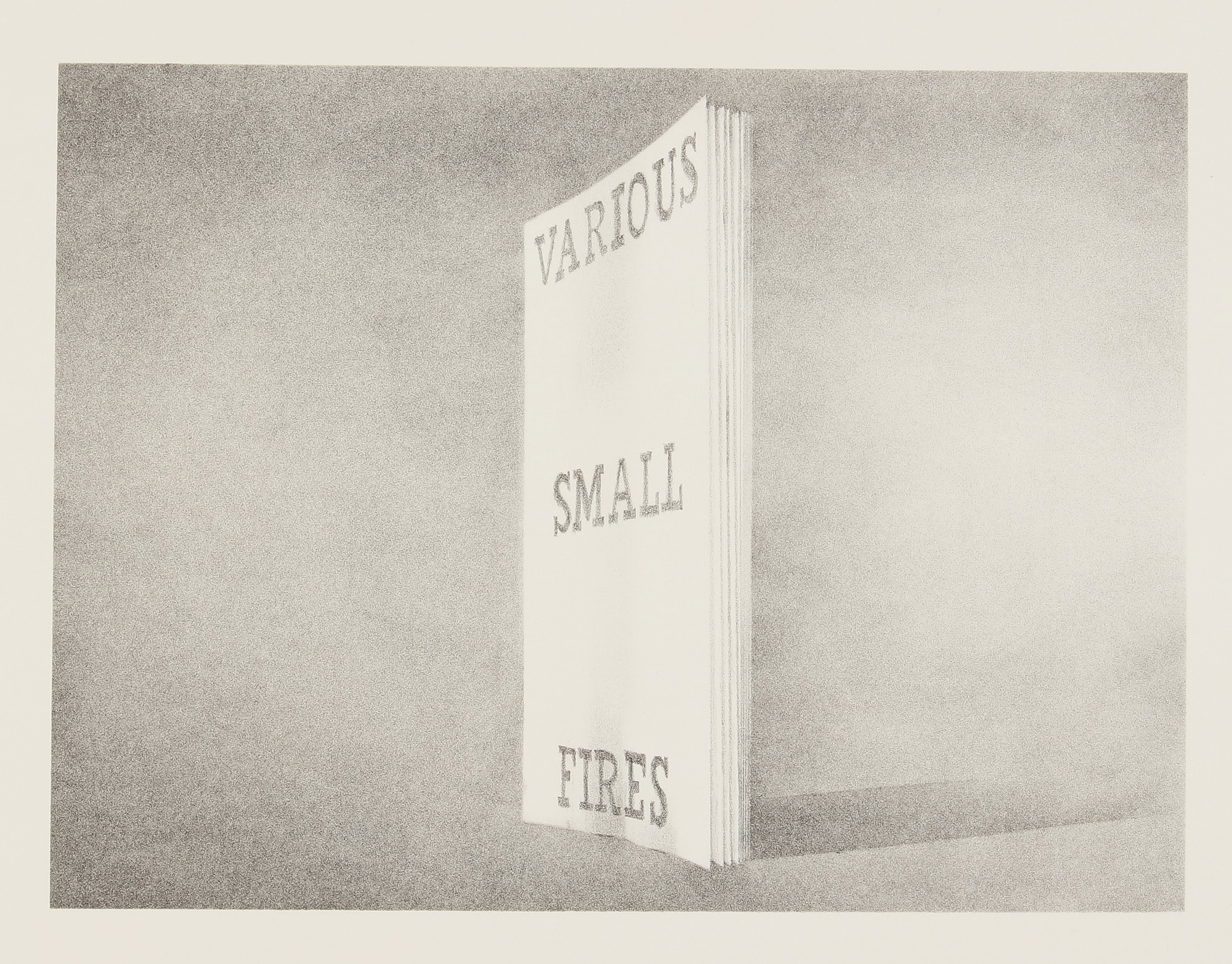 Ed Ruscha-Various Small Fires (Engberg/Philpot 46)-1970
