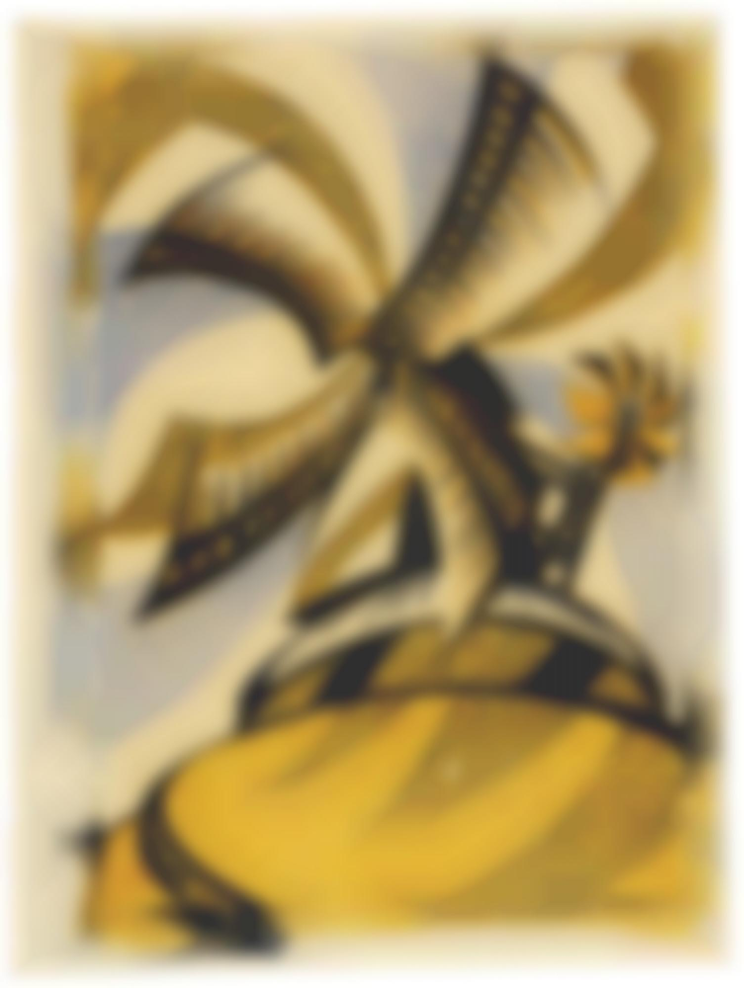 Sybil Andrews-The Windmill (C. Sa 27)-1933