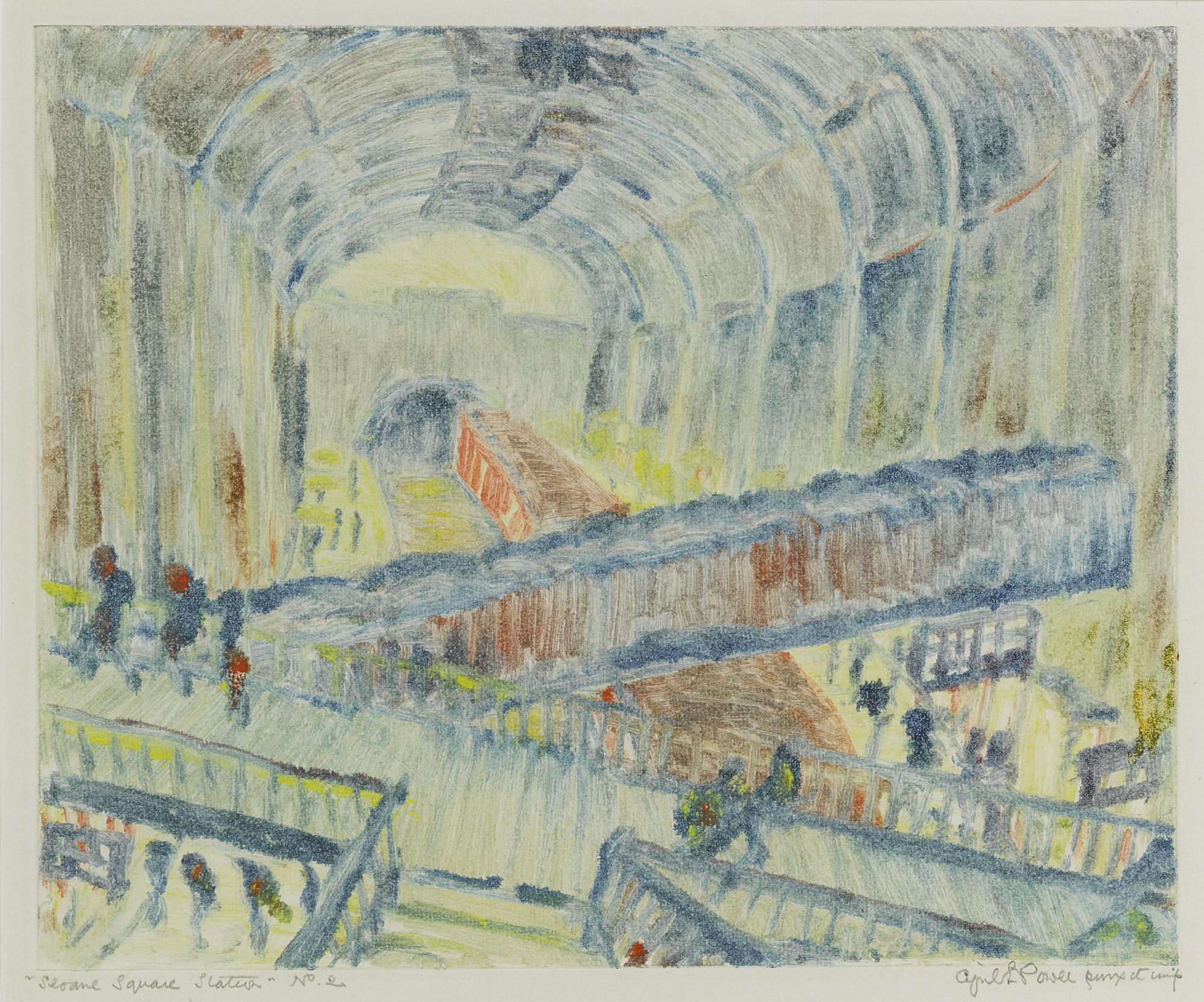 Cyril Edward Power-Sloane Square Station-1932