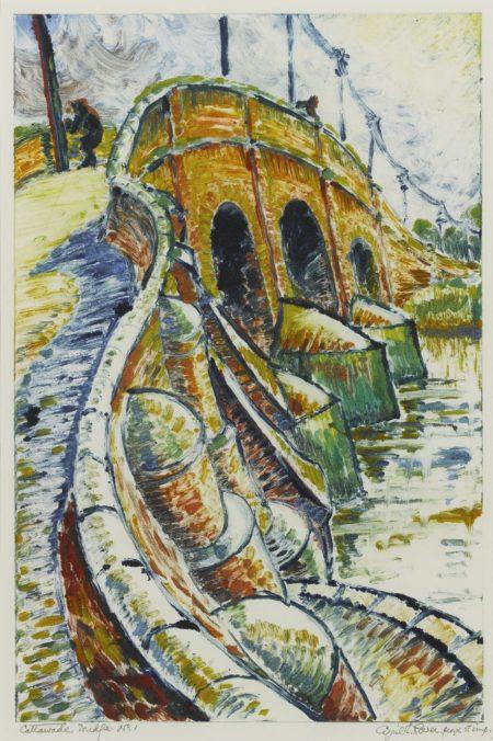 Cyril Edward Power-Cattawade Bridge-1932