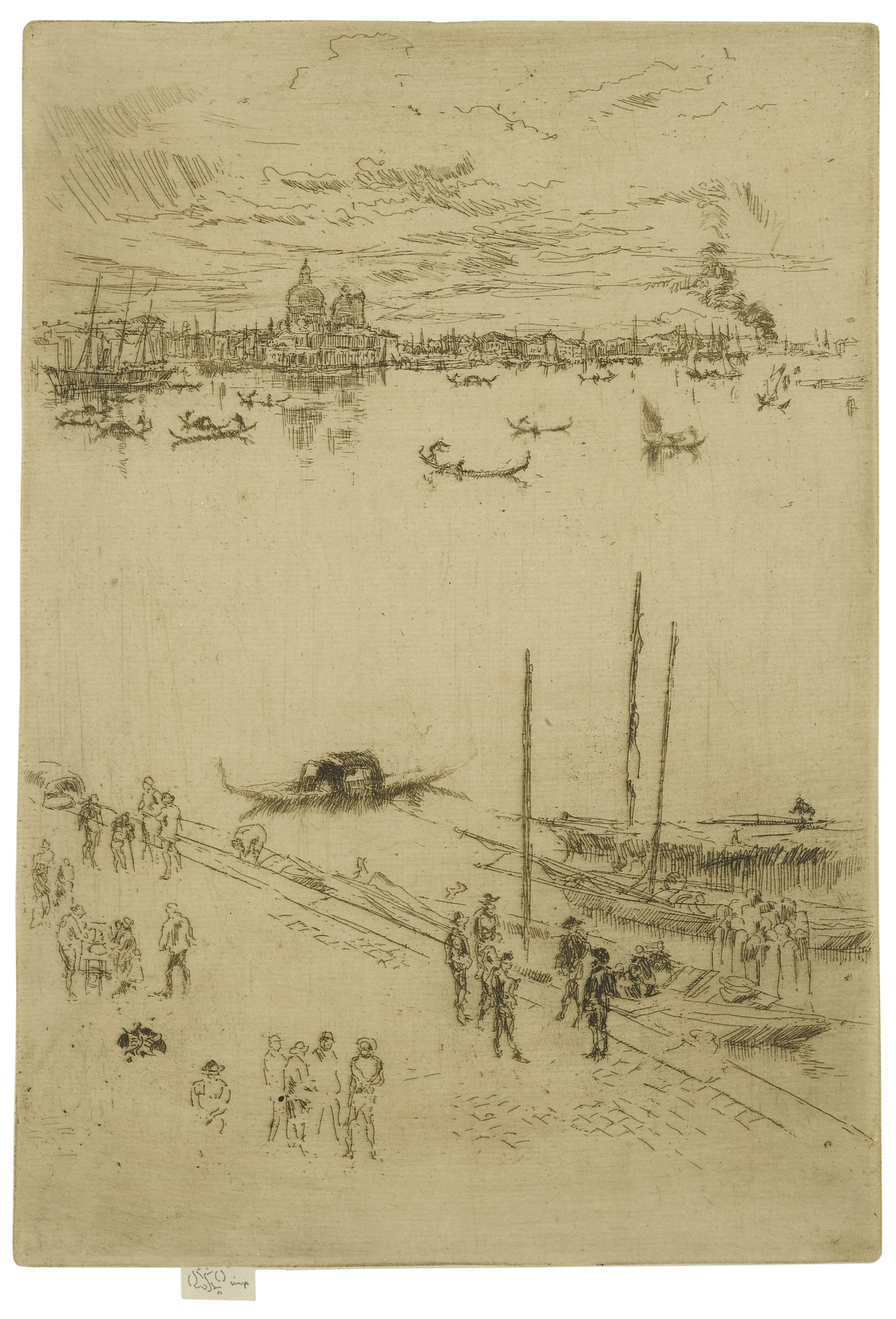 James Mcneill Whistler - Upright Venice (K. 205; G. 232)-1880