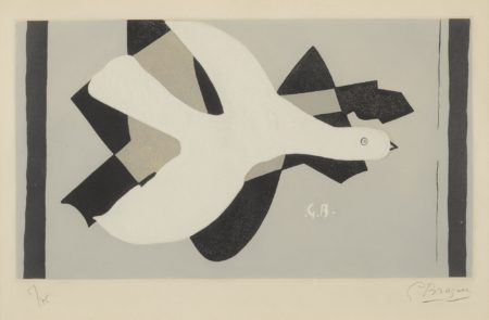 Georges Braque-Loiseau Et Son Ombre III (V. 158)-1961