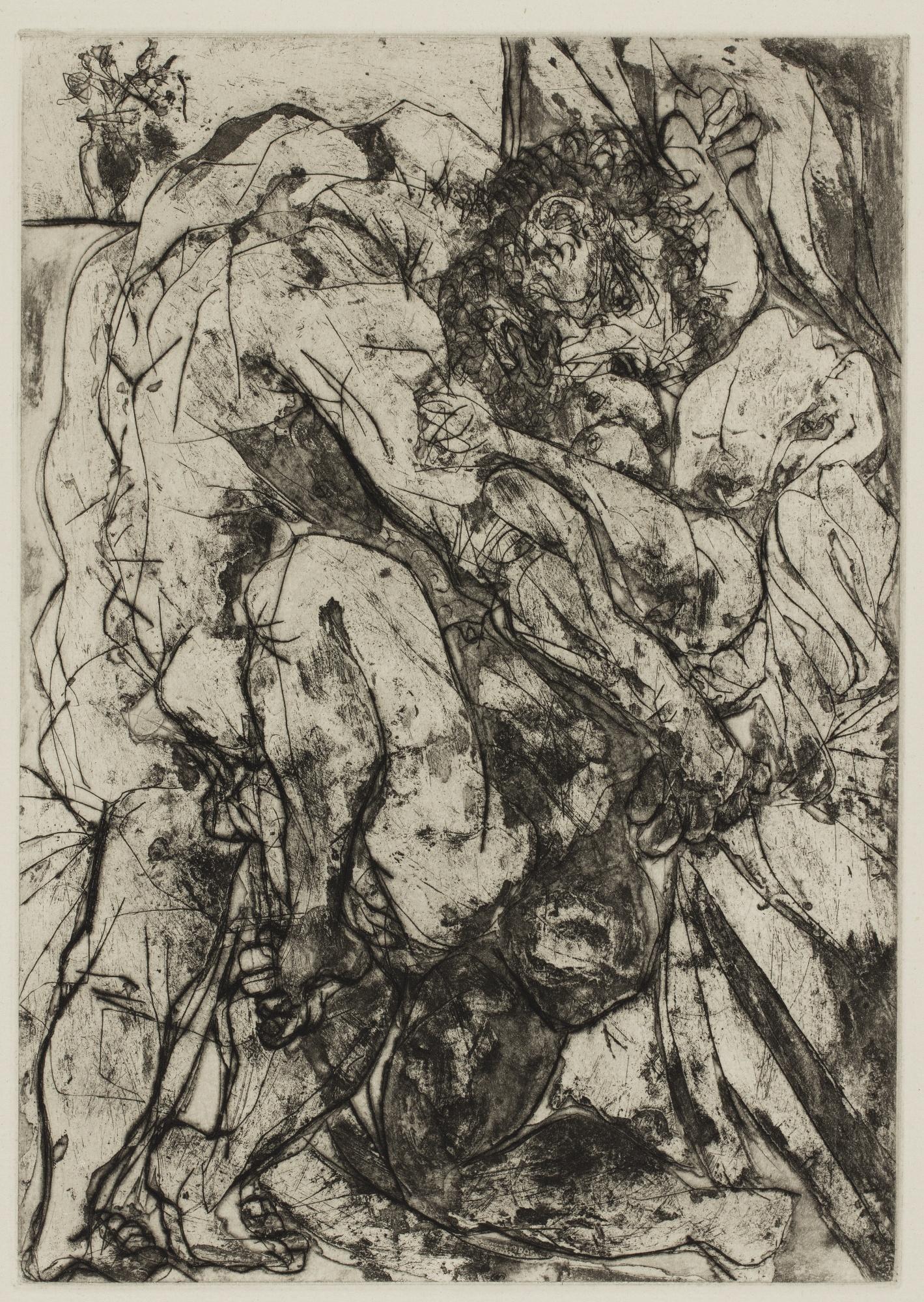 Pablo Picasso-Le Viol Sous La Fenetre (B. 183; Ba. 342)-1933