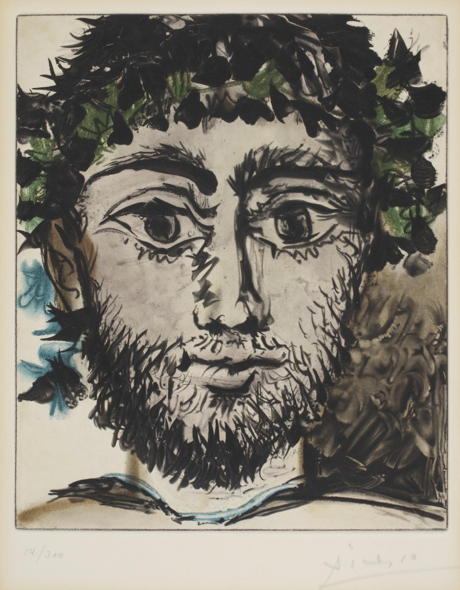 Pablo Picasso-After Pablo Picasso - Tete De Faune-1955