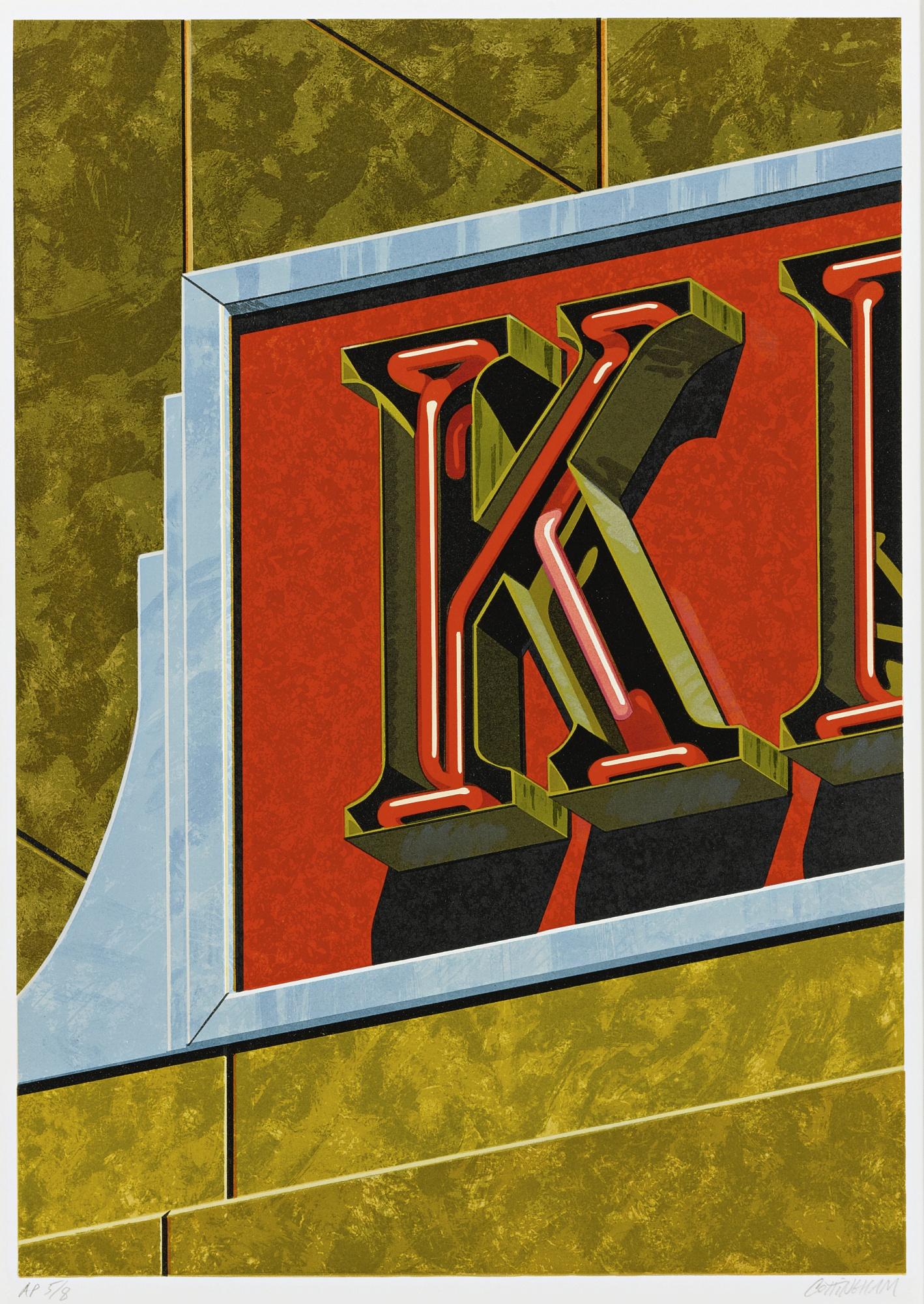 Robert Cottingham-An American Alphabet: K-1997