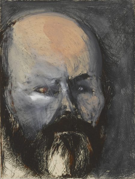Jim Dine-Self-Portrait With Oil Paint (D. & F. 28)-
