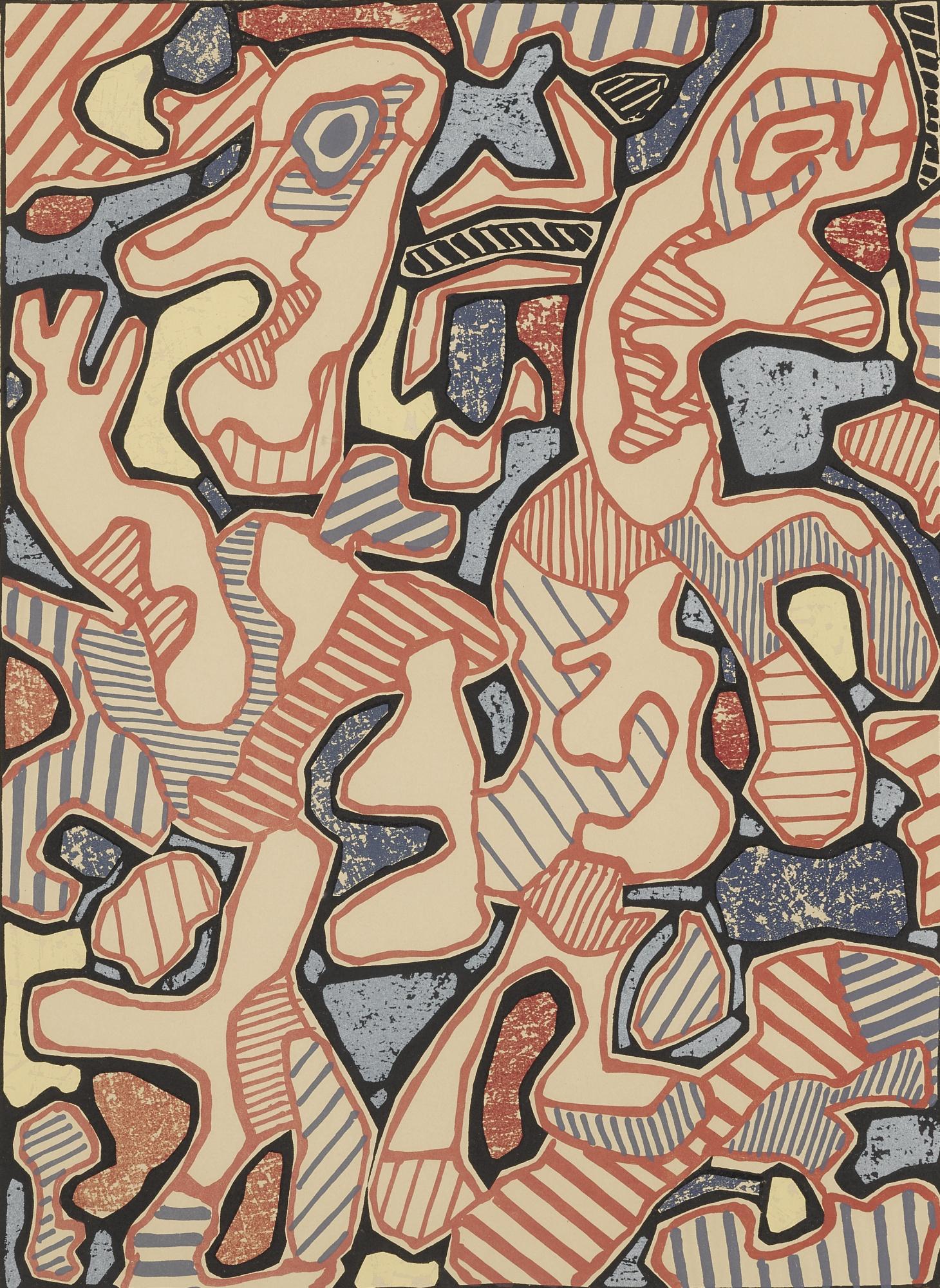 Jean Dubuffet-Affairements (W. 992)-1964