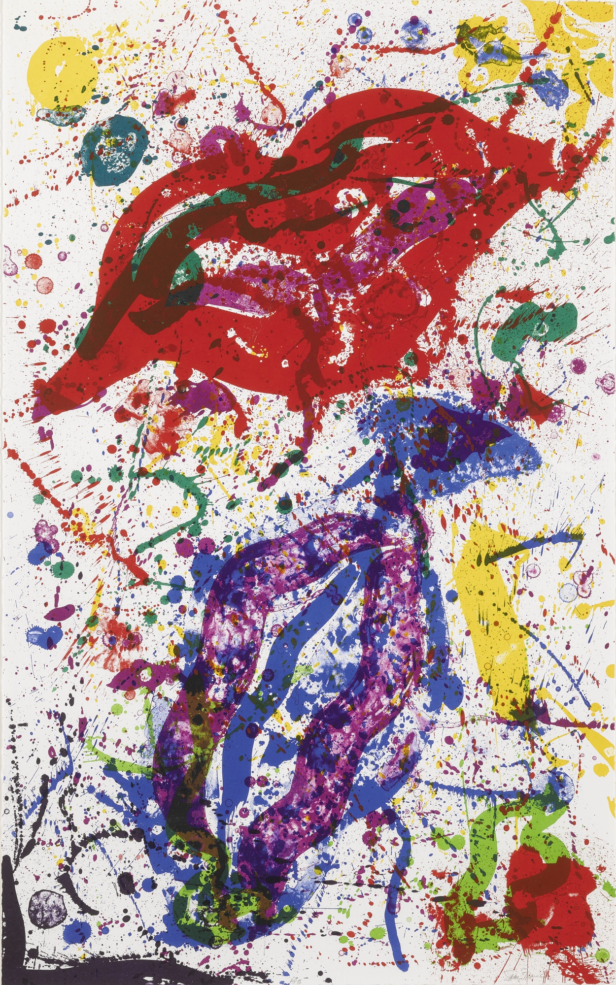 Sam Francis-Untitled (Sf-329) (Lembark L.278)-1988