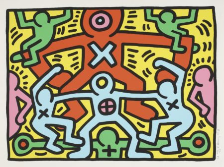 Keith Haring-Untitled (L. P. 50)-1985
