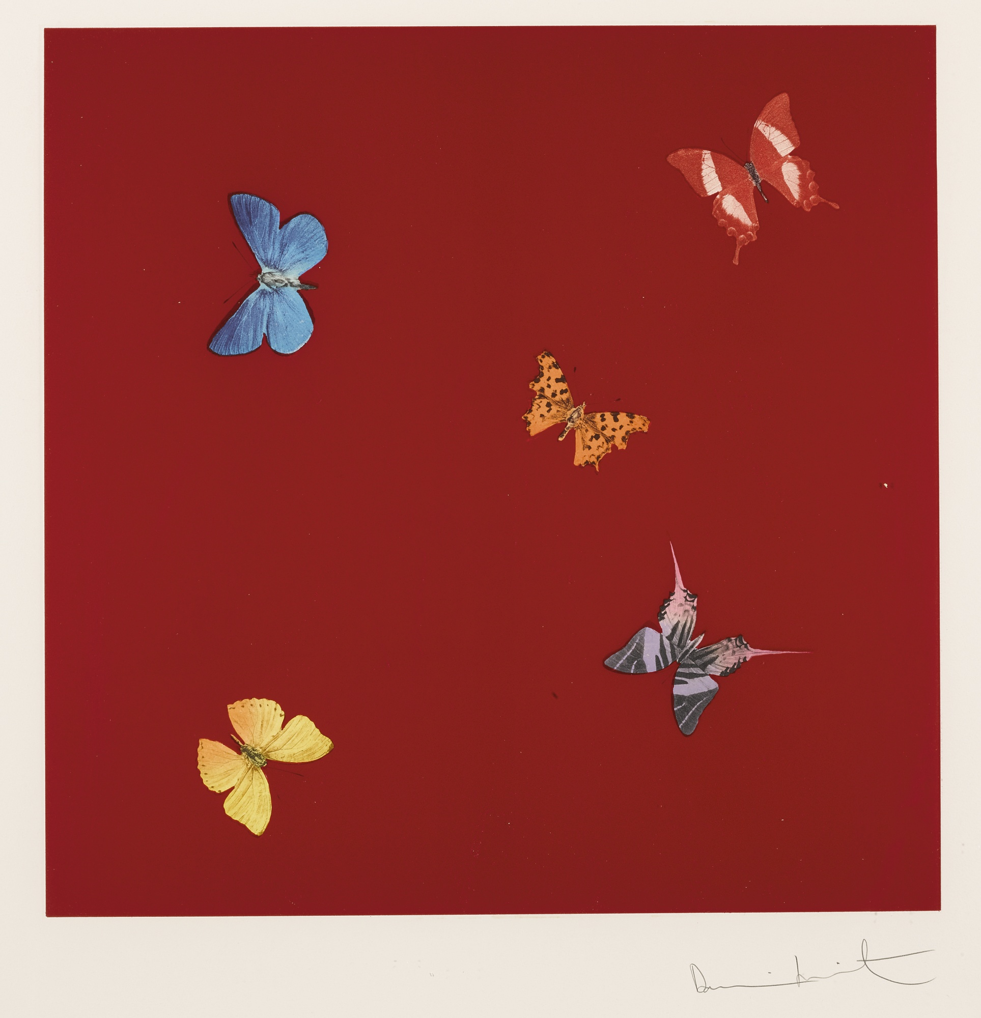 Damien Hirst-She Walks In Beauty-2013