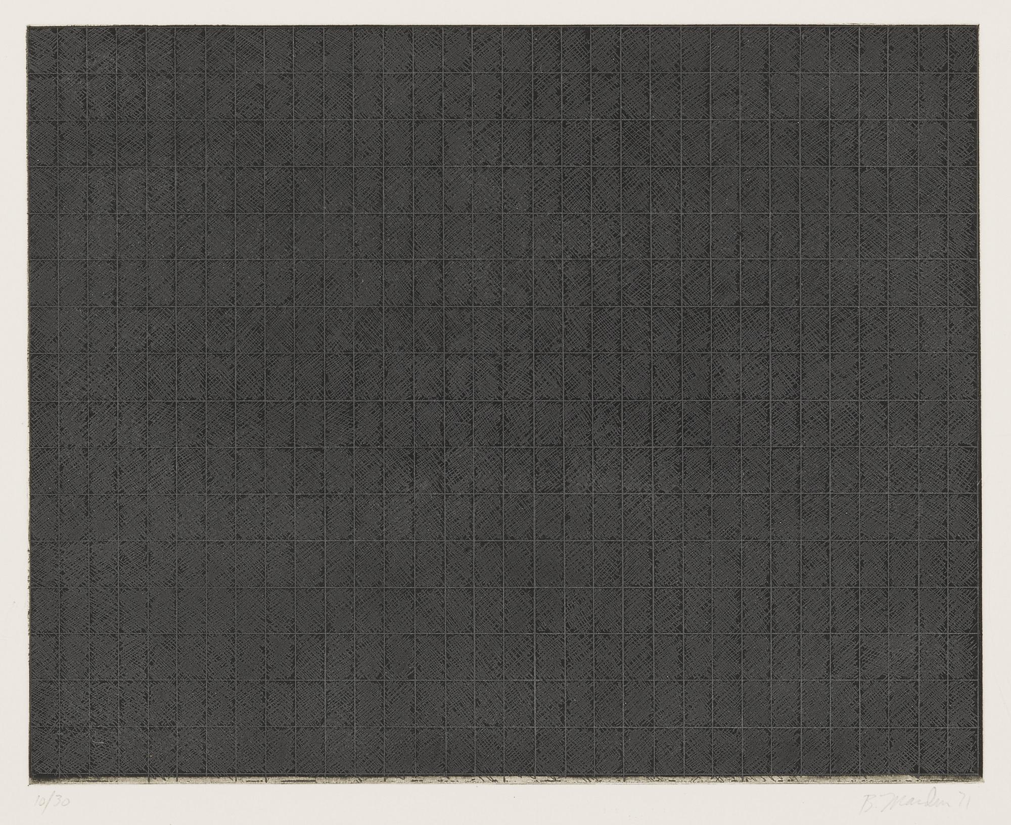 Brice Marden-Ten Days (L. 20 (E))-1972