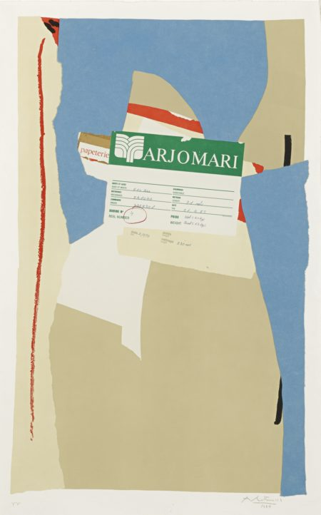 Robert Motherwell-America-La France Variations II (W.A.C. 330)-1984