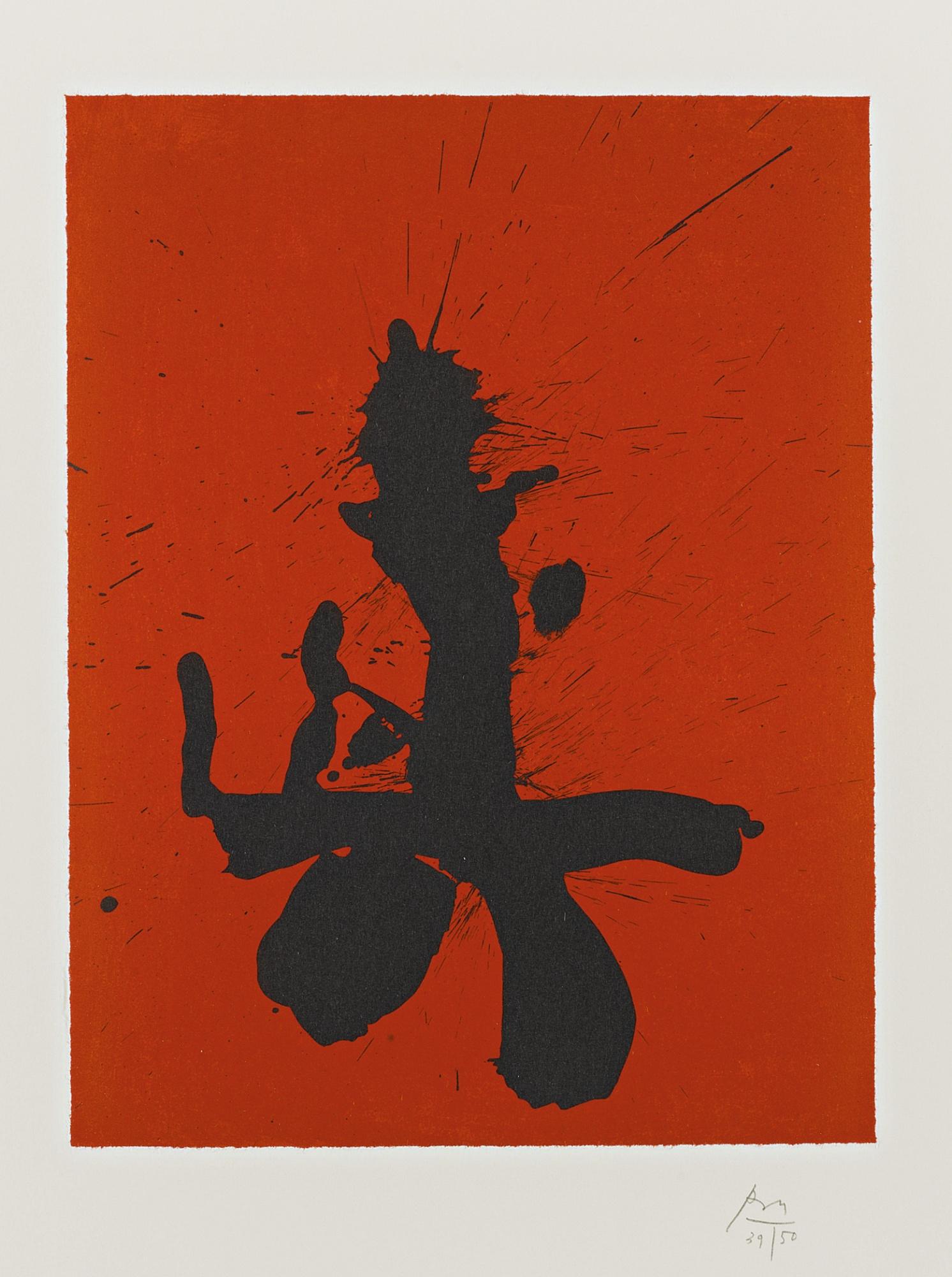 Robert Motherwell-Red Samurai (W.A.C. 435)-1988