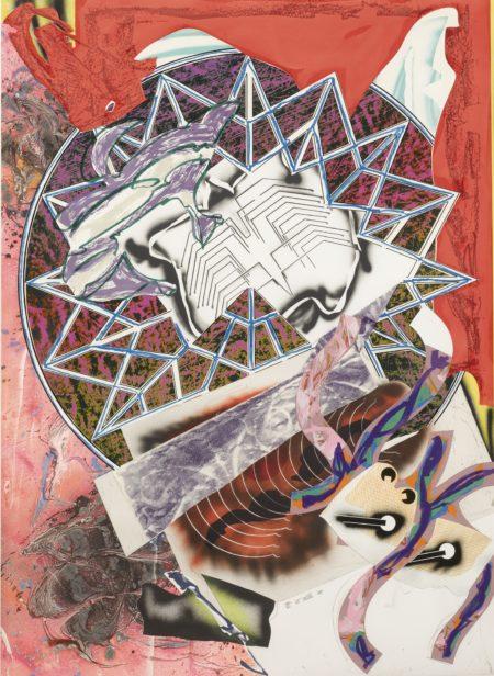 Frank Stella-Squid-1988