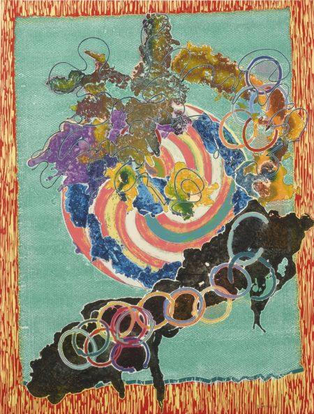 Frank Stella-Juam (State I)-1997