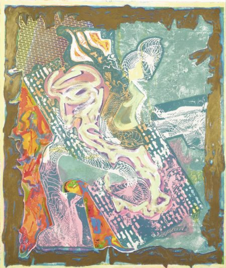 Frank Stella-Ain Ghazal Variation-1999