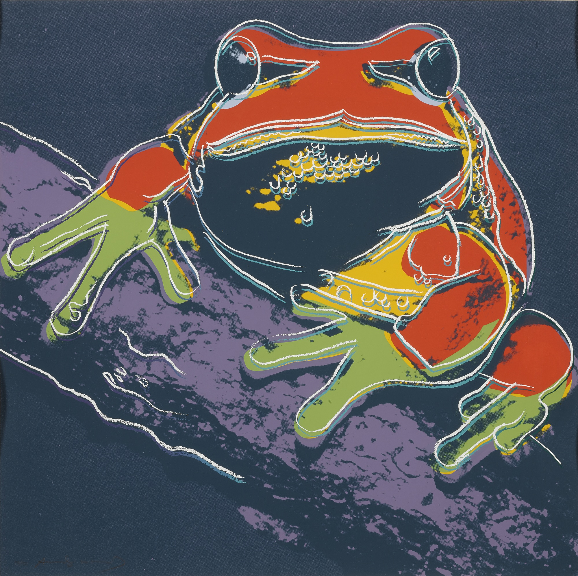 Andy Warhol-Pine Barrens Tree Frog (F. & S. II.294)-1983