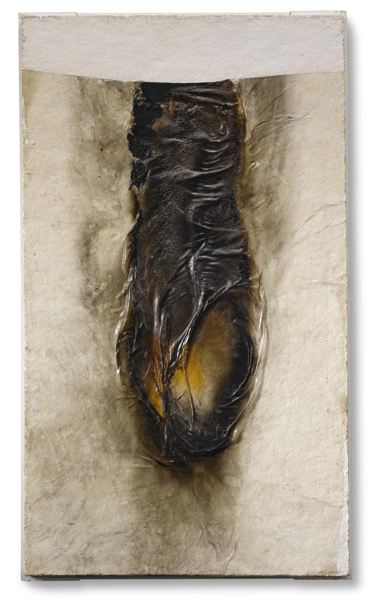 Alberto Burri-Combustione-1968