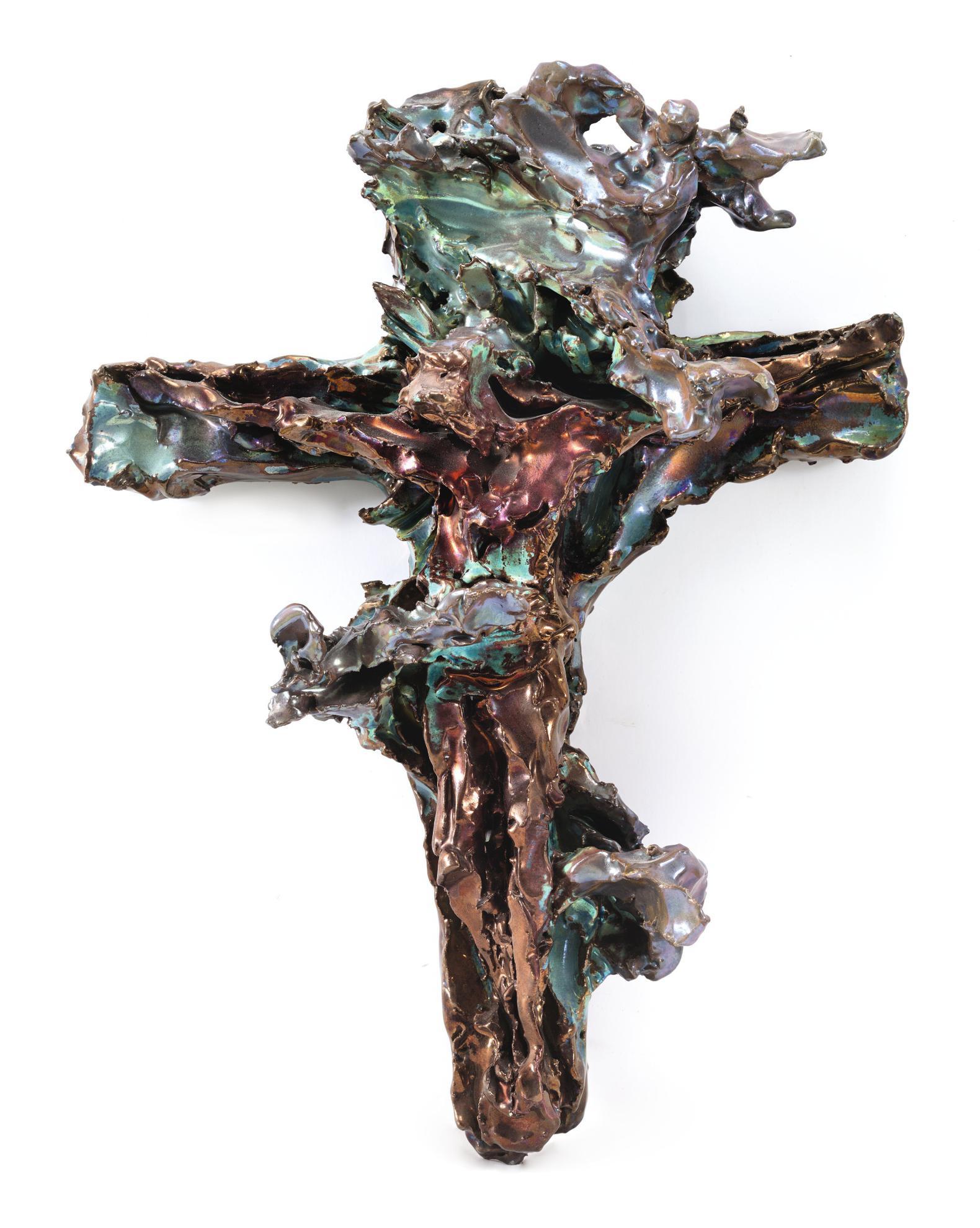 Lucio Fontana-Crocifissione-1948