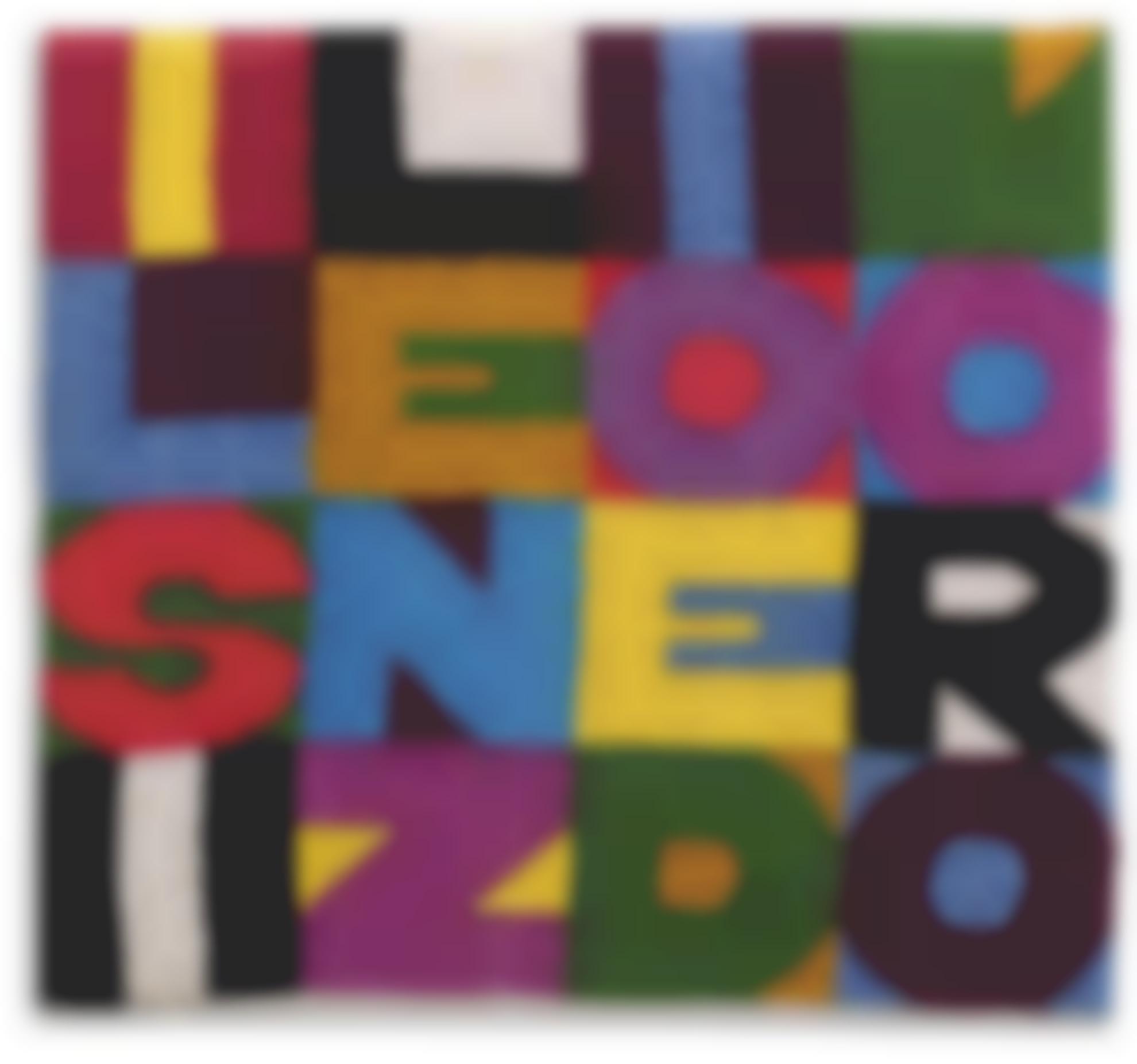 Alighiero Boetti-Il Silenzio E Doro-1988