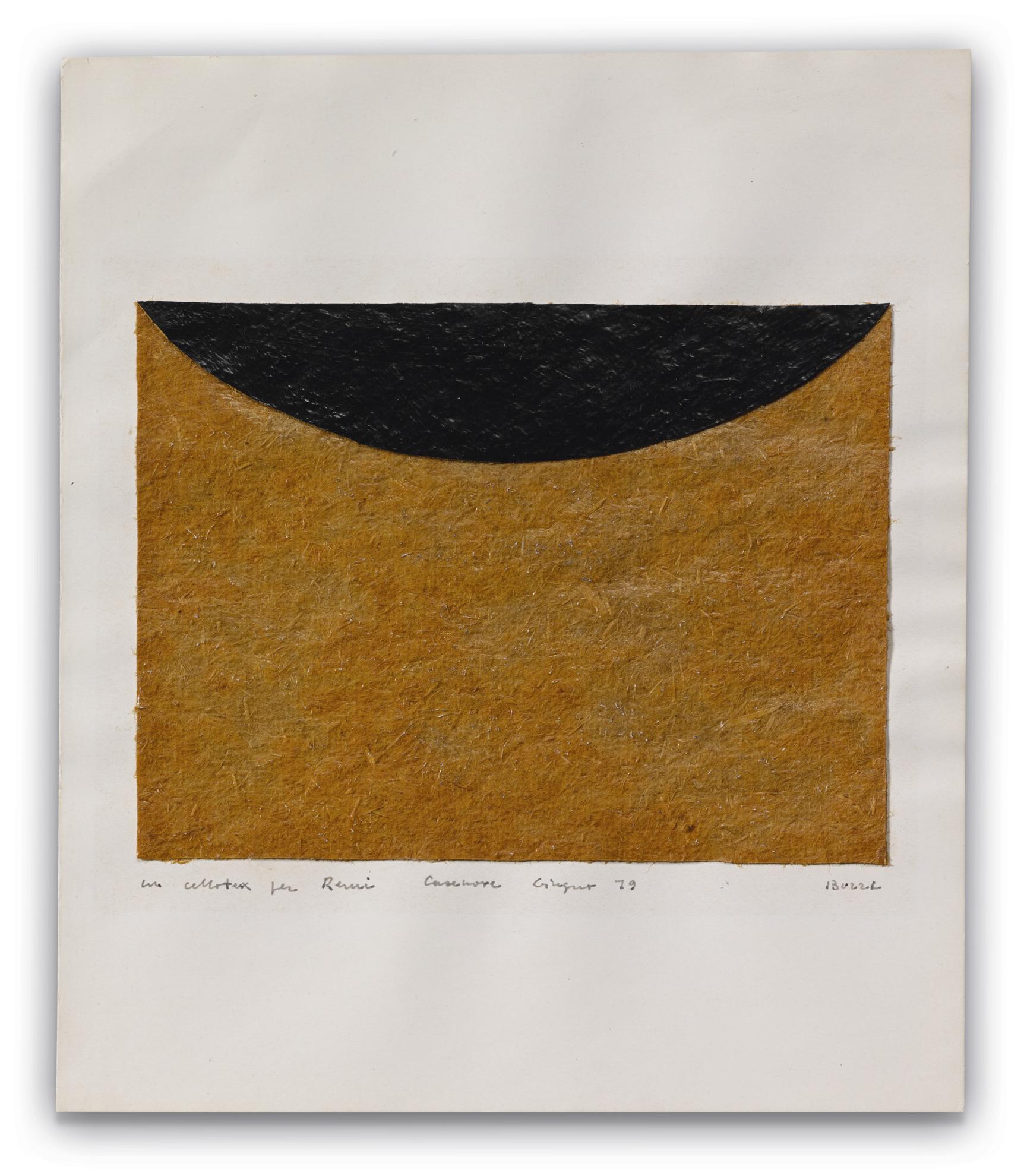 Alberto Burri-Senza Titolo-1979