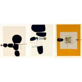 Victor Pasmore-Points of Contact No. 24; Points of Contact No. 25; Points of Contact No. 27-1974
