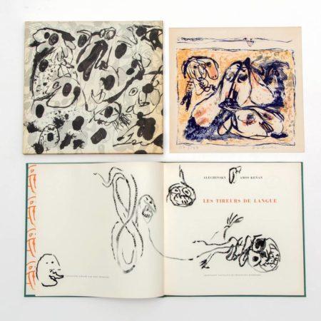 Pierre Alechinsky-Les tireurs de langue-1961