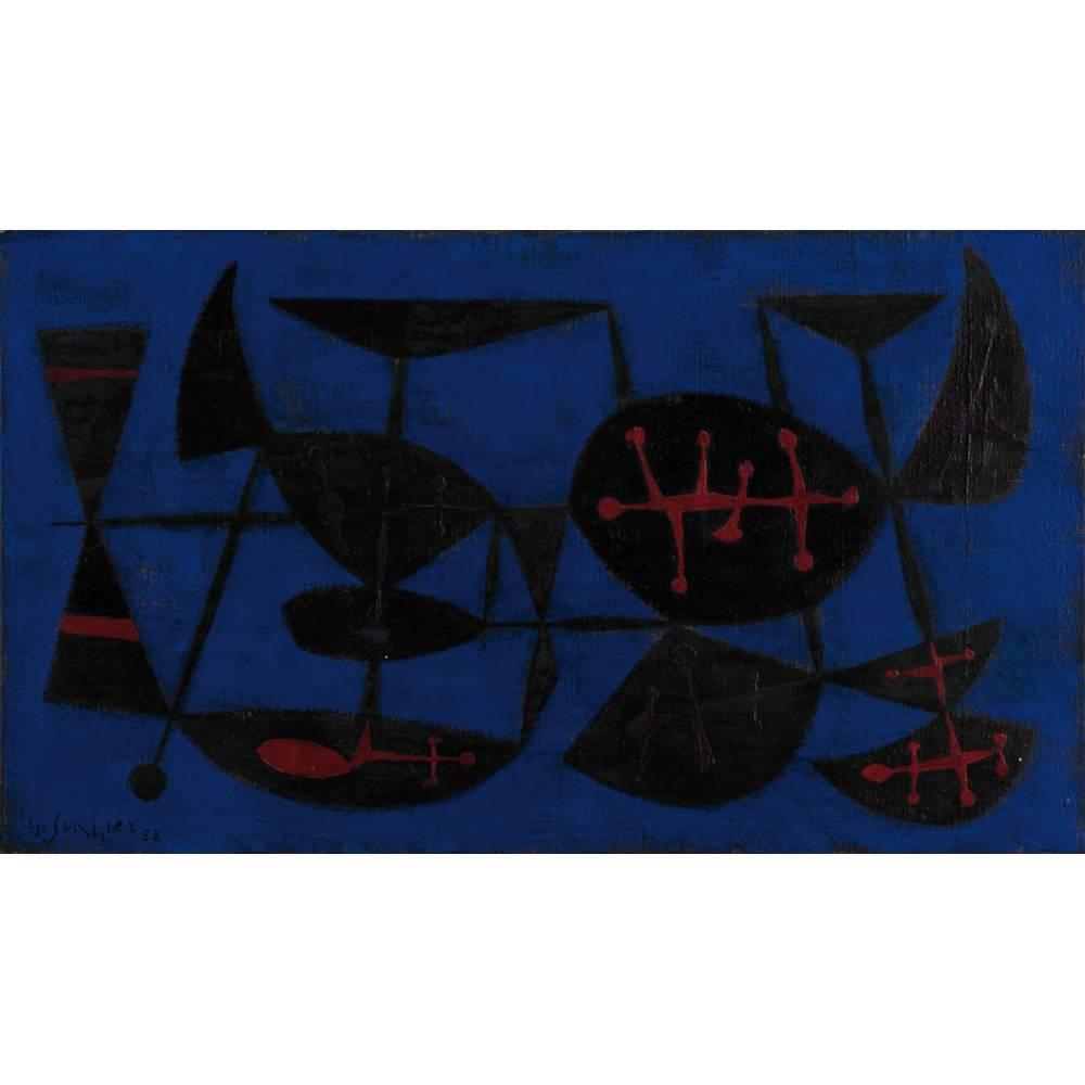 Gustave Singier-Le point de vue du torero-1952