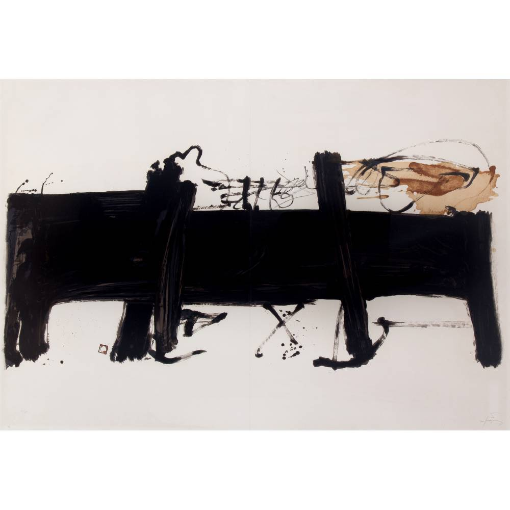 Antoni Tapies-La grande table-1984