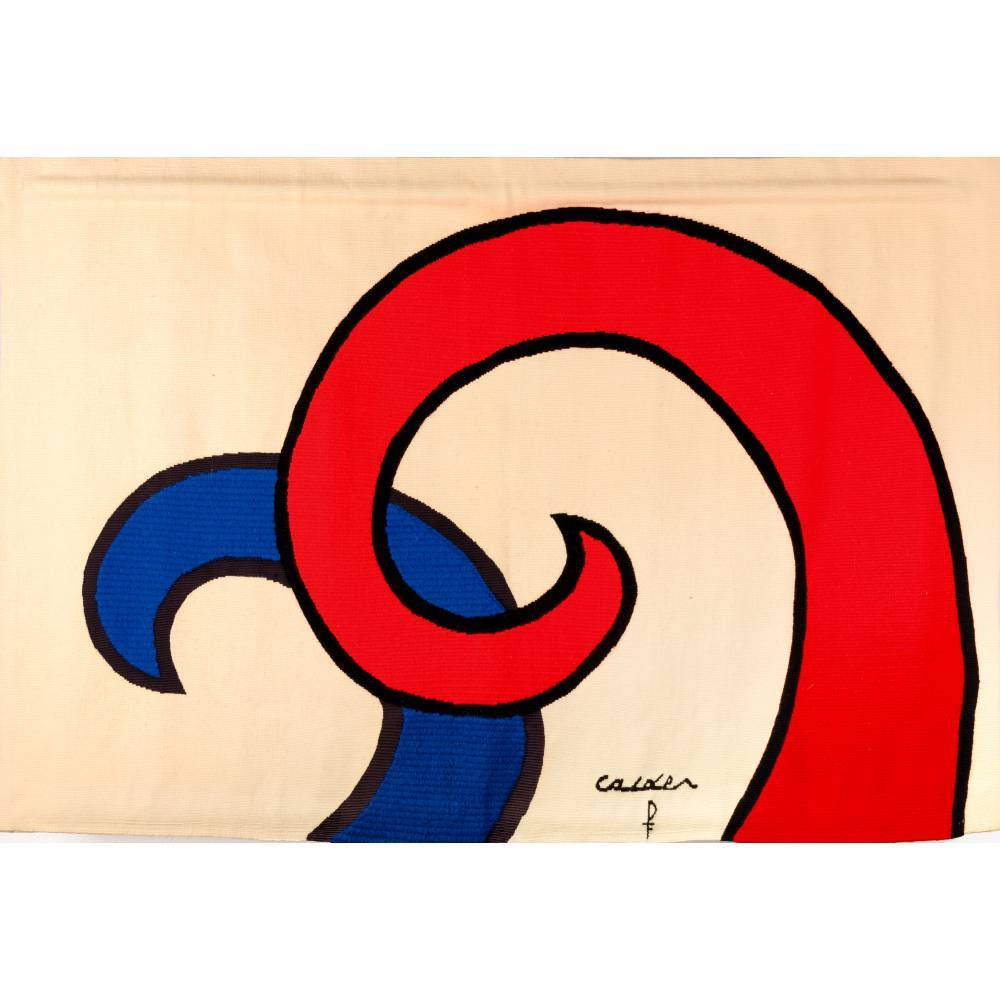 Alexander Calder-The Bicentennial Tapestries: Les Vagues / The Waves-1975