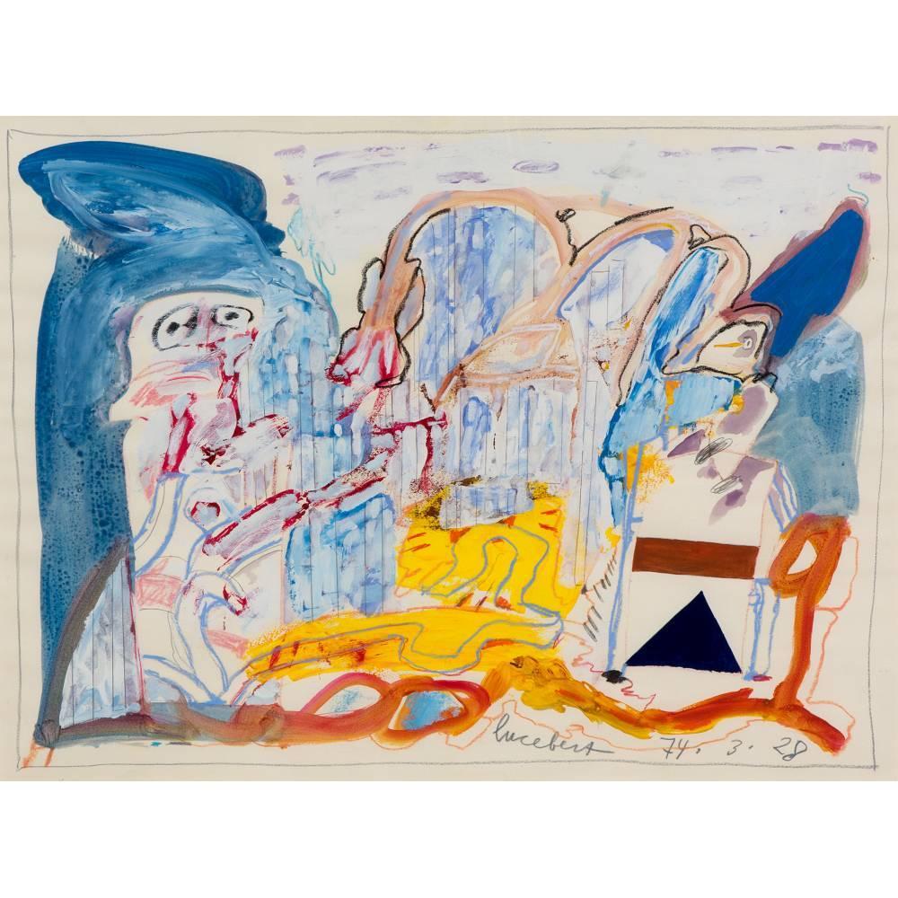 Lucebert-Abstract figures-1928