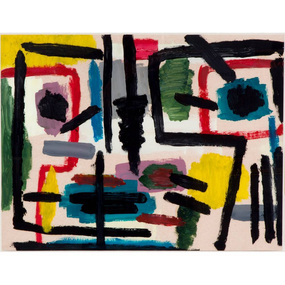 Abstract composition-1958