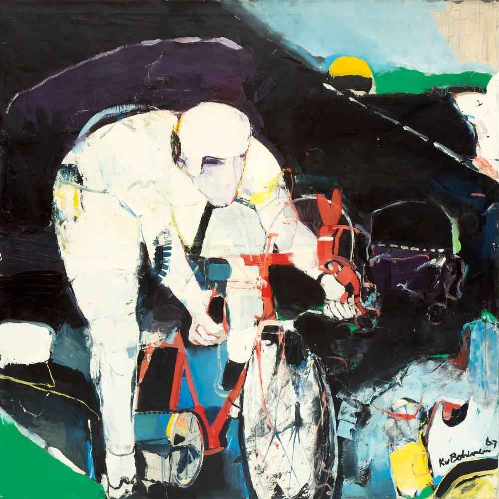 Kees van Bohemen-Wielrenner / Cyclist-1967