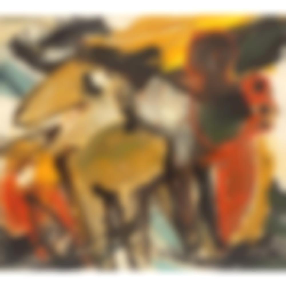 Abstract animal-1962