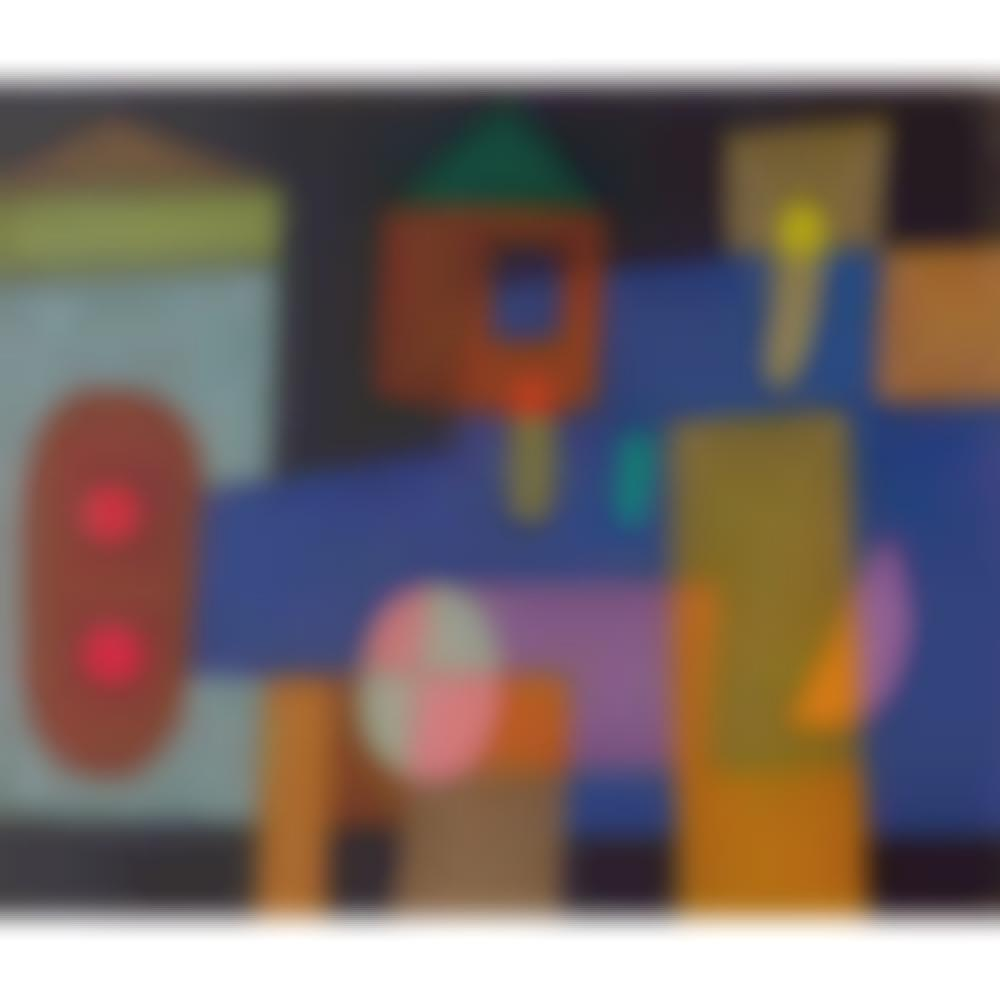 Abstract composition with house-1978