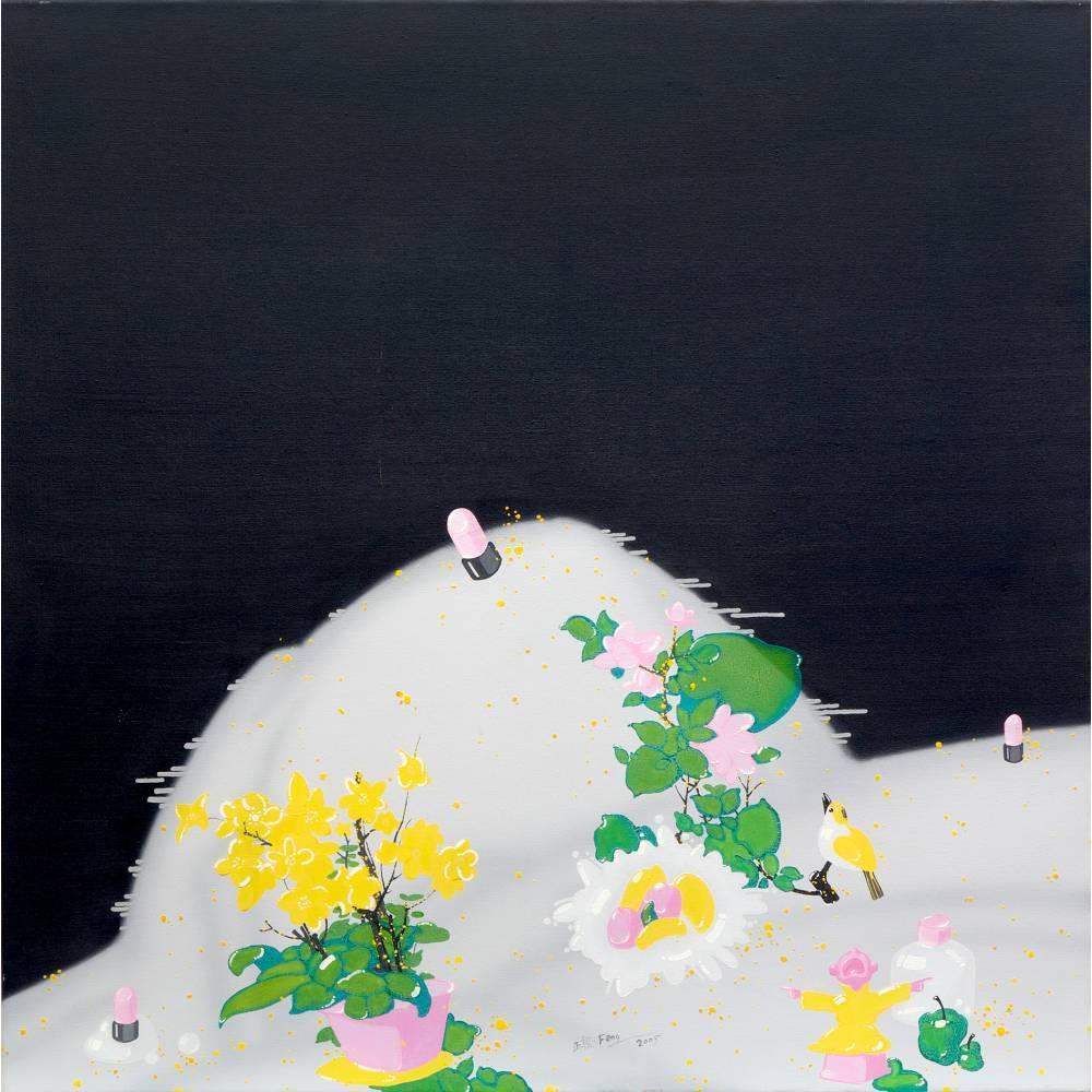 Flowers, bird and lipsticks-2005