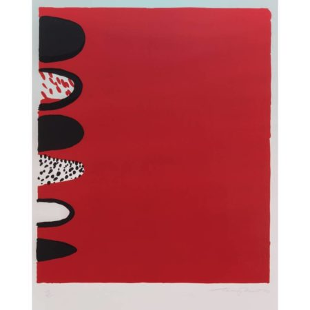 Terry Frost-Red with Black on the Side-1970