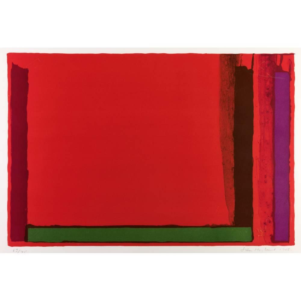 John Hoyland-Small Red-1968